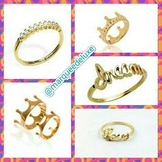 Anéis delicados, que podem ser usados em conjunto e criar um look super moderno! Vem conhecer nossas novidades!!!   Fica de olho nas nossas redes sociais!  Site: www.marqueedeluxe.com.br  Insta: @marqueedeluxe  Pinterest: Marquee de Luxe  Whats: (42)9802 3838