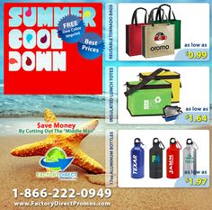 Increase Marketing ROI with Summer Sale Pricing on Eco-Friendly Promotional Products #EcoSpecial #Marketing #GoReusableNow