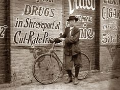 Shorpy: November 1913. Shreveport, Louisiana. Howard Williams, 13-year-old delivery boy for Shreveport Drug Company. He works from 9:30 a.m. to 10:30 p.m.; has been here three months. Goes to the Red Light every day and night. Says that the company could not keep other messenger boys, they work them so hard. Photograph and caption by Lewis Wickes Hine.