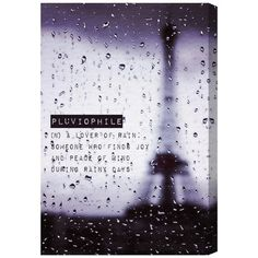 Oliver Gal 'Pluviophile' Canvas Art