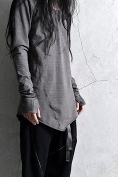 Visions of the Future // deviant blog- A.F ArteFact MULTISEAM SUMI-DYED T OVERLOCKED