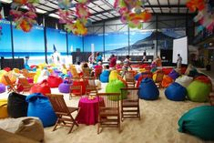 Indoor Beach Party Games For Adults Ideas Indoor Beach Party, Beach Party Games, Adult Party Games, Event Planning Business, Super Party, House Party, Corporate Events, Bean Bag, Ideas Party