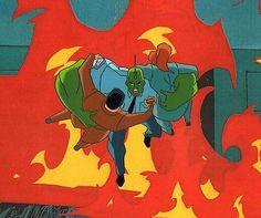 The Dragon Savage Dragon Production Animation Cel