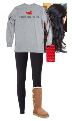 """bleh"" by morgantaylor37 ❤ liked on Polyvore featuring NIKE, UGG Australia and Kate Spade"