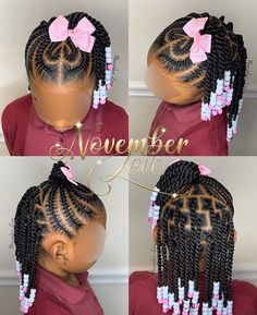 Toddler braided hairstyles without beads,little black girl braided hairstyles kids hairstyles gallery,children's braids black hairstyles ponytails,Cute braids with beads for short hair Toddler Braided Hairstyles, Toddler Braids, Black Kids Hairstyles, Baby Girl Hairstyles, Natural Hairstyles For Kids, Braids For Kids, Natural Hair Styles, Children Braided Hairstyles, Easy Black Hairstyles