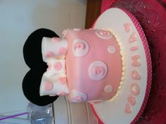 Minnie Mouse Birthday Cake  (For my adorable niece Sophia!)