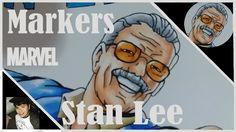 Marker Speedpainting - Stan Lee (By: André Almeida)