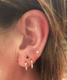 23 Delicate and Oh-So-Pretty Ear Piercing Ideas