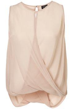 Drape Front Blouse - StyleSays