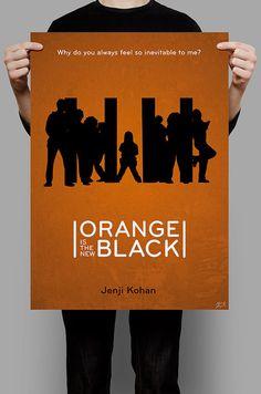 Orange Is the New Black 11x17 (20.00) 27x40 (40.00)