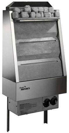 Vuolukivikiuas Mondex Classic Steel 6,0 kW 5-8 m³ - Taloon.com