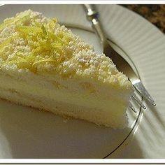 HCG Diet (P3/4) Lemon Cream Cake