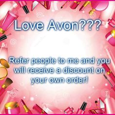 I love Avon and you will to! Www.youravon.com/crystalsparrow