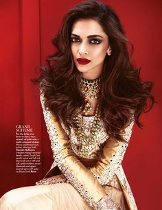leahcultice:   Deepika Padukone by Mazen Abusrour for Vogue India June 2014