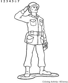 Honor Army Soldier Printable Coloring Pages For Kids Boys And Girls