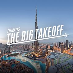 When you travel, everyone wins. Explore Dubai & get a world of service for your office. #EmiratesBigTakeoff