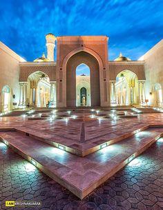 Oman | Al Zulfa Mosque, Seeb. credit: Krishnakumar.