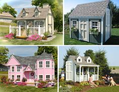 Can you believe that it's actually a cottage playhouse? I'd kill to go back as a kid If I have that. But I want one for my future kids, pls?