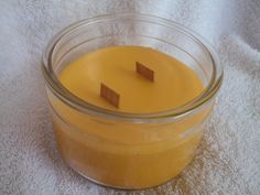 11 Oz. Double Woodwick 100% Soy Candle by CherryOakCandles on Etsy