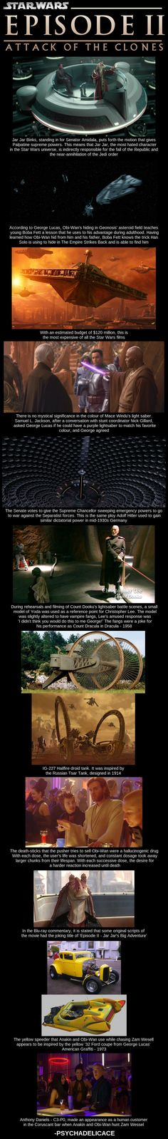 Star Wars Facts about movies and filmings