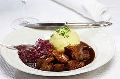 Thüringer Rindergulasch - Gulasch aus Thüringen - zartes Gulasch - weiches Fleisch - deftig im Geschmack