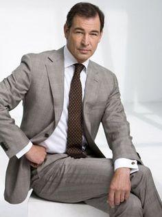 Erik de Vogel (May Dutch actor. Dutch Actors, Kingdom Of The Netherlands, Man Office, Dapper Gentleman, Office Looks, Well Dressed Men, Mens Suits, Classic Style, Tv Series