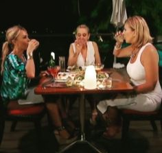 Tamra Judge's Blue, Green & White Tie Dye Romper | http://www.bigblondehair.com/real-housewives/rhoc/tamra-judges-blue-green-white-tie-dye-romper/