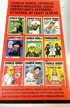 How The World's Newspapers Reacted To The Attack On Charlie Hebdo - BuzzFeed News