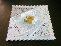 A7 Quick and Easy 30 pc  White  Off White  Ivory by DandSArtStudio, $19.95