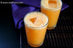 Pineapple Carrot & Ginger Juice!