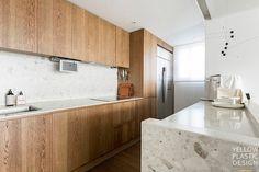 신반포팰리스 42평 아파트인테리어_우드향기가 번지는 집 [옐로플라스틱, 옐로우플라스틱, yellowplastic] : 네이버 블로그 Kitchen Cabinets, Interior, House, Plastic, Yellow, Home Decor, Decoration Home, Indoor, Home