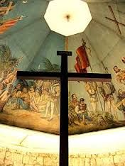 Discover Magellan's Cross in Cebu City, Philippines: This holy site either displays a centuries-old cross or a complete fake. Philippines Cebu, Philippines Travel, Lancaster Hotel, Filipino Art, Regency Hotel, Century Hotel, Cebu City, Plaza Hotel, Grand Hotel