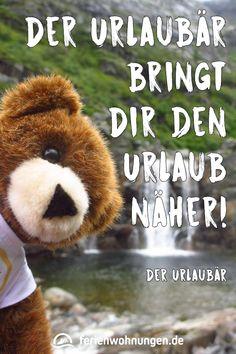 Zitate, Sprüche und Lebensweisheiten zu den Themen Reisen und Urlaub bei ferienwohnungen.de. #urlaubär