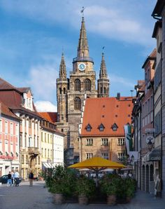 Ansbach, Germany . My father was in the army and we lived here for almost six years while I was a teenager. Loved it!