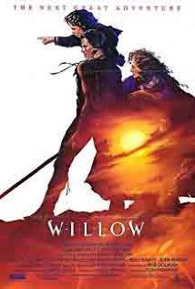 Willow. A reluctant dwarf must play a critical role in protecting a special baby from an evil queen.   Study Guide, pg 95: http://middleschoolreteam.wikispaces.com/file/view/Popcorn+Theology.pdf