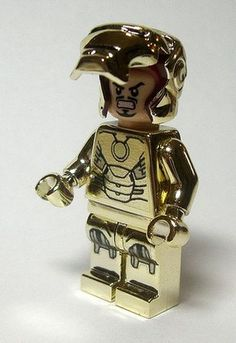 Gold Iron Man