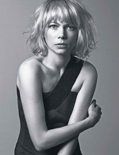 Beauty of Fame - Michelle Williams - Love Hair, Great Hair, Pretty Hairstyles, Bob Hairstyles, Bob Haircuts, Hair Inspo, Hair Inspiration, Short Hair Cuts, Short Hair Styles