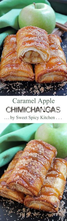 Over 30 Burrito Chimichanga and Quesadilla Mexican Recipes ndash A variety of Chicken beef smothered baked and even de hellip Chimichanga, Mexican Chicken Recipes, Mexican Dishes, Mexican Easy, Mexican Desserts, Mexican Cupcakes, Weight Watcher Desserts, Apple Recipes, Sweet Recipes