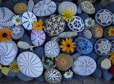 Les galets et les fleurs