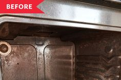 Oven Cleaning - Rental Kitchen, Before and After | Kitchn