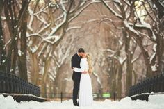 Winter Wedding in New York. The Couple: Nicola and David . The Wedding: Central Park, New York City, New York Snow Wedding, Winter Wonderland Wedding, Wedding Shoot, Wedding Blog, Wedding Reception, Reception Ideas, Wedding Menu, Wedding Poses, Wedding Photoshoot