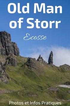 the Old Man of Storr Skye Ile de Skye Ecosse vieil homme de pierre