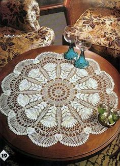 Doily with diagram - I am making this doily in size 100 thread to enter in the State Fair next  year.