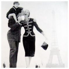 Paris 1957 | Suzy Parker and Gardner Mckay | Chanel | Photo Richard Avedon | #richardavedon #paris #suzyparker #gardnermckay #imagelovers #imageculture #retrochic #fashionlovers