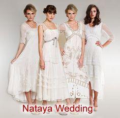 Wardrobe Shop ~ The premier online shopping destination for Vintage Inspired Nataya Wedding Dresses and Separates
