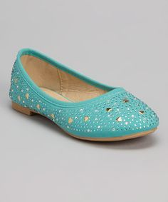Take a look at this Mint Hearts Flat on zulily today!