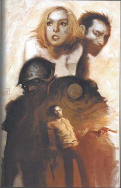La Imaginación Dibujada: Ashley Wood