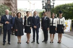 Swedish Royals attended the opening of the Parliament at the Riksdag in Stockholm, Sweden, on September 15, 2015.