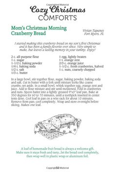 Cozy Christmas, Christmas Morning, First Christmas, Gooseberry Patch, Cranberry Bread, Lasting Memories, Holiday Dinner, Bread Recipes, Treats