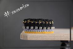 """""""Firebrick"""", crocheted bracelet"""
